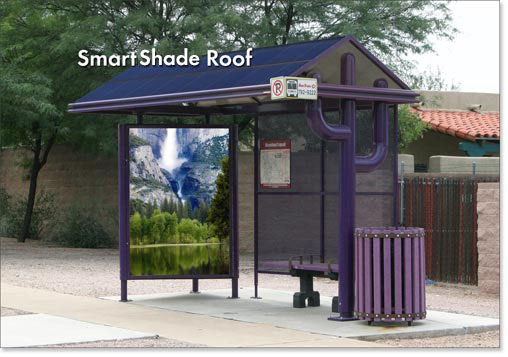 bus shelter image