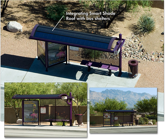 SmartPower Bus Shelters