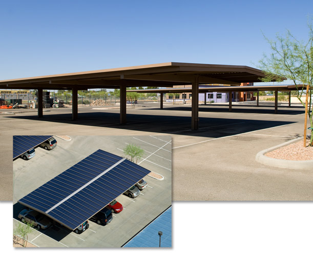 Sundial Energy Smartshade Solar Covered Parking